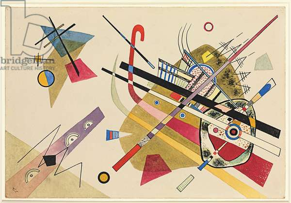 Untitled; Ohne Titel, 1922 (watercolour, pen and brush with ink on paper)