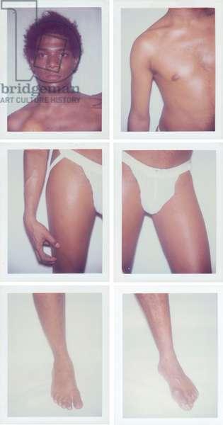 Jean-Michel Basquiat, 1983 (six polaroid prints)