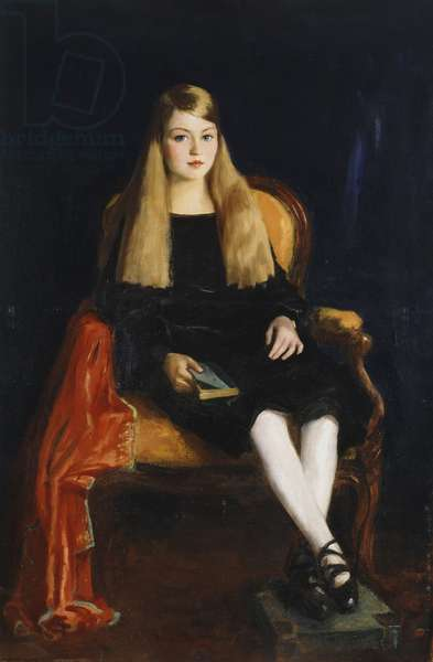 Portrait of Marcia Anne M. Tucker, 1926 (oil on canvas)