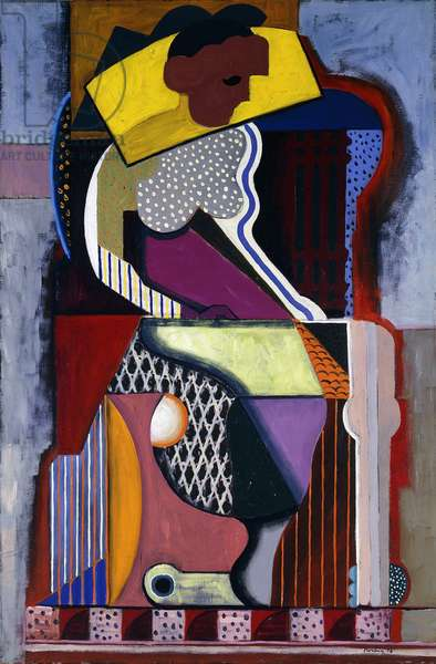 Woman Seated; Femme Assise, 1918 (oil on canvas)