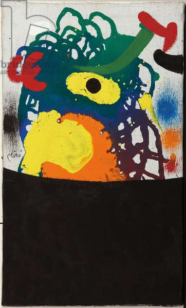 Head, 1970 (oil on canvas)