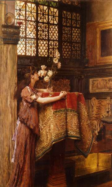 A Corner of my Studio, 1893 (oil on canvas)