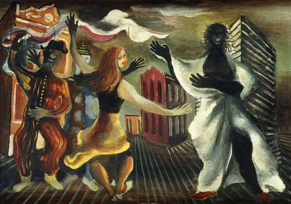 Carnival; Carnaval, 1946 (oil on canvas)