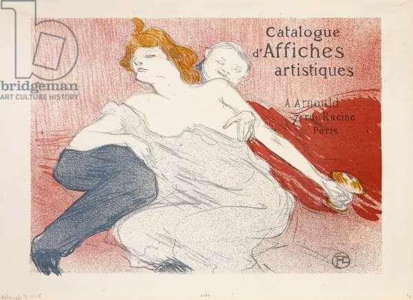 Debauche, Deuxieme Planche, 1896 (lithograph printed in colours on wove paper)