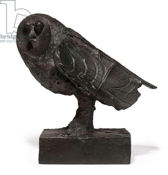 The Owl; La Chouette, 1951 ; 1951-1953 (bronze with dark brown patina)