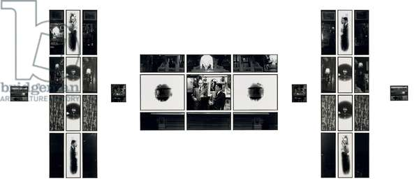 To Her Majesty, 1973 (gelatin silver print; in thirty-seven parts)