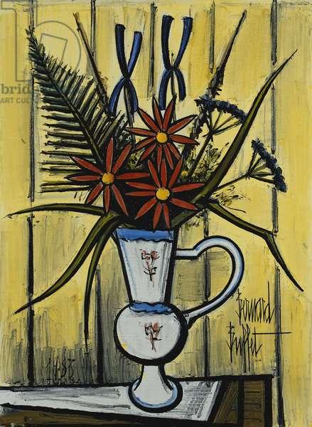 Bouquet of Flowers; Bouquet de Fleurs, 1983 (oil on canvas)
