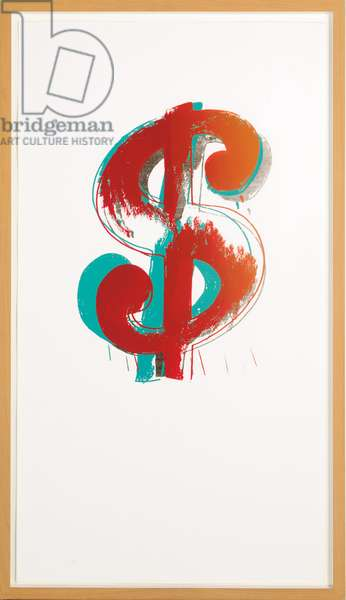 Dollar Sign, 1982 (screenprint on paper)