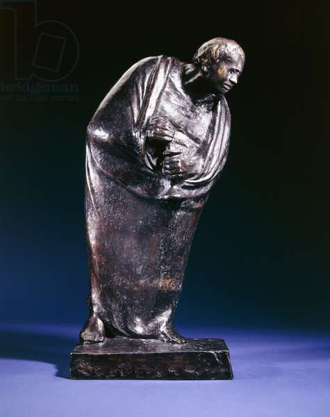 The Lonely; Der Einsame, 1911 (bronze with brown patina)