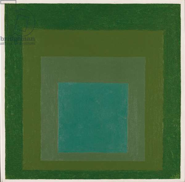 Study for Homage to the Square: Daybreak, 1962 (oil on masonite)