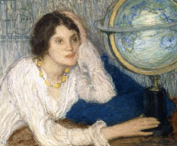 Le Beau Voyage,  (oil on canvas)