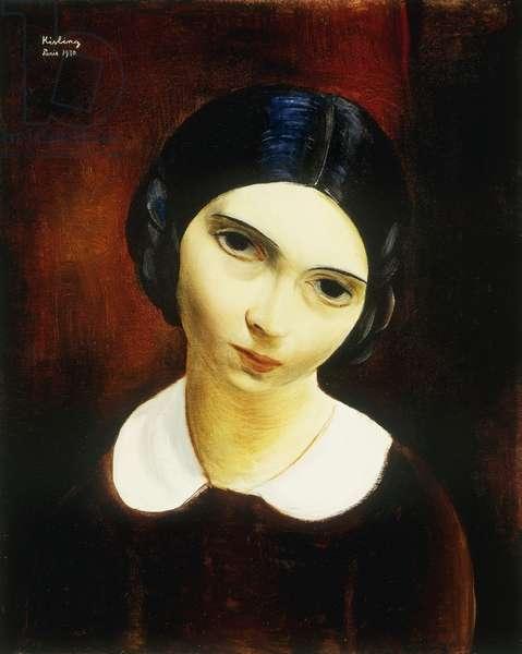 Portrait of a Young Girl; Portrait de Jeune Femme, 1930 (oil on canvas)