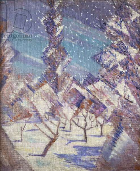 The Four Seasons: Winter, c.1919 (oil on canvas)
