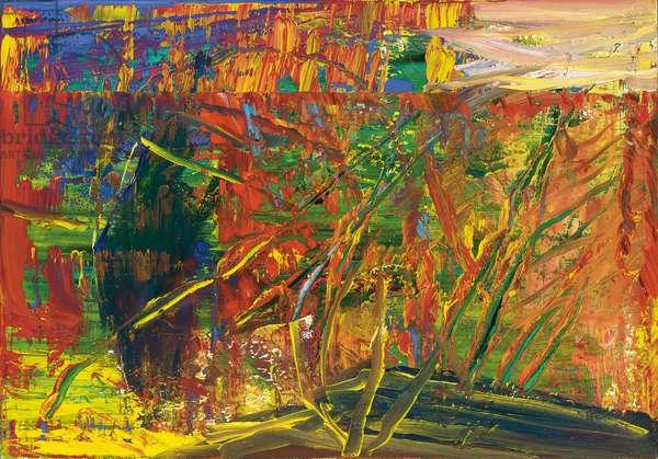 Abstract Image; Abstraktes Bild, 1986 (oil on canvas)