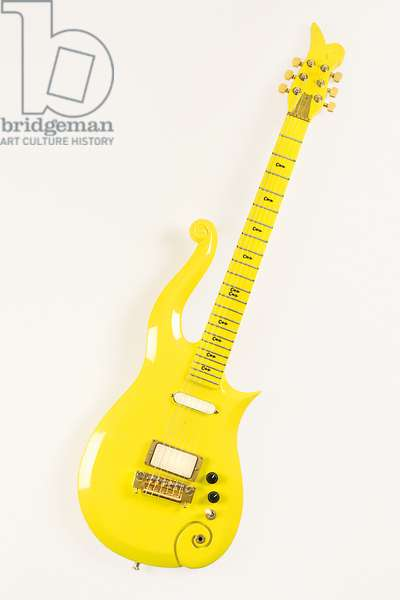 Custom-made Cloud guitar, designed exclusively for Prince (Prince Rogers Nelson), 1993 (wood, metal & plastic)
