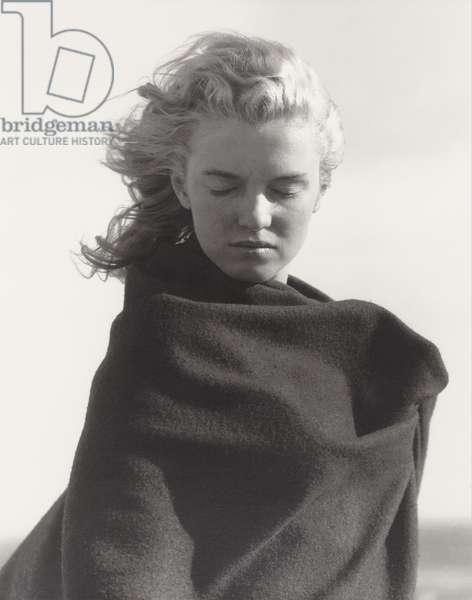 Marilyn Monroe, 1946 (gelatin silver print)