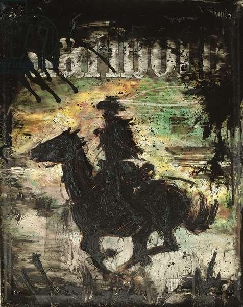Marlboro Country, 1983 (acrylic on metal)