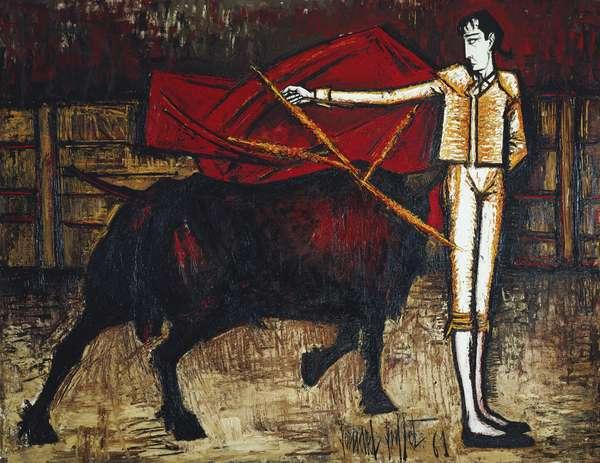 Manoletina, 1961 (oil on canvas)