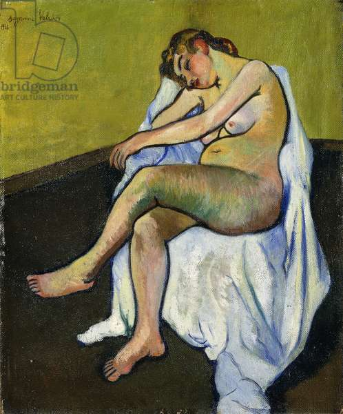 Seated Nude; Nu assis, 1916 (oil on canvas)