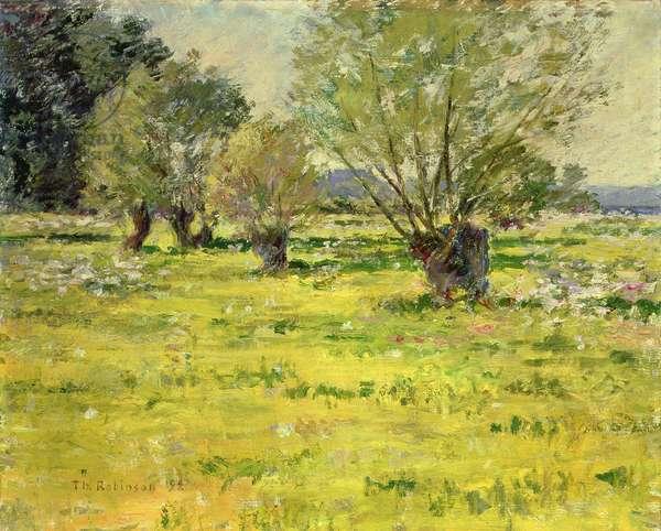 Springtime, 1892 (oil on canvas)