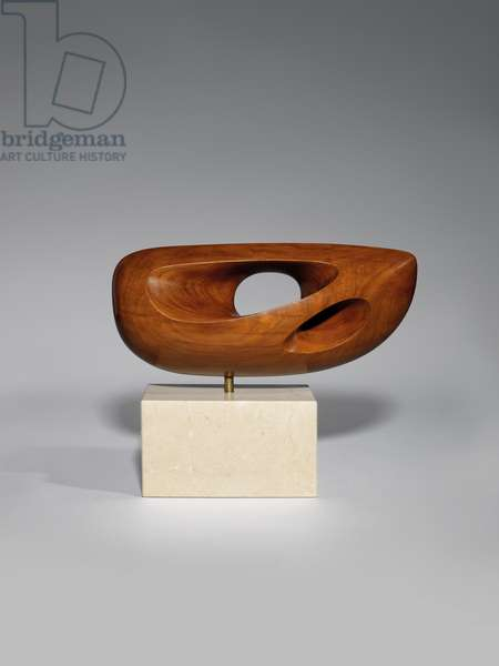 Hand Sculpture (Turning Form), 1953 (sandalwood)
