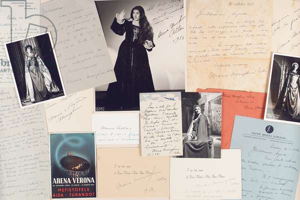Collection of correspondence, press cuttings, programmes anf publicity photographs, 1951-62 (pen & ink on paper, b/w photo)