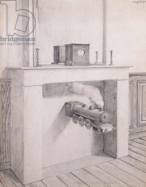 Time Transfixed, 1938 (pencil on paper)