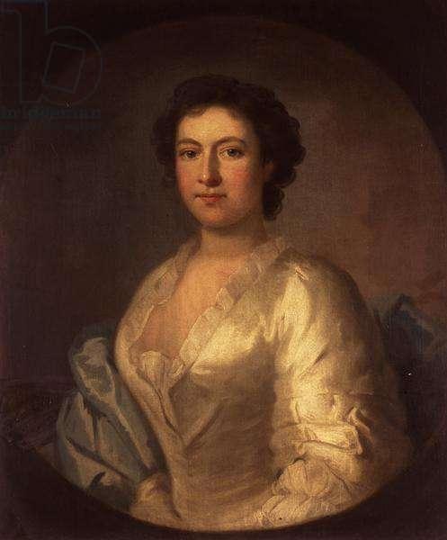 Portrait of the singer Susannah Maria Cibber, 1741