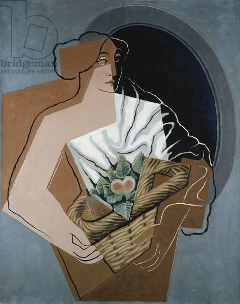 Woman with Basket; La Femme au Panier, 1927 (oil on canvas)