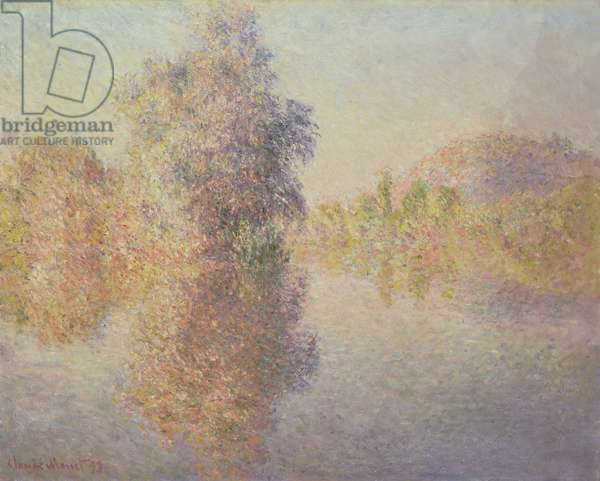 Morning on the Seine at Giverny, 1893 (oil on canvas)