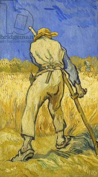 The Reaper; Le Moissonneur, 1889 (oil on canvas)