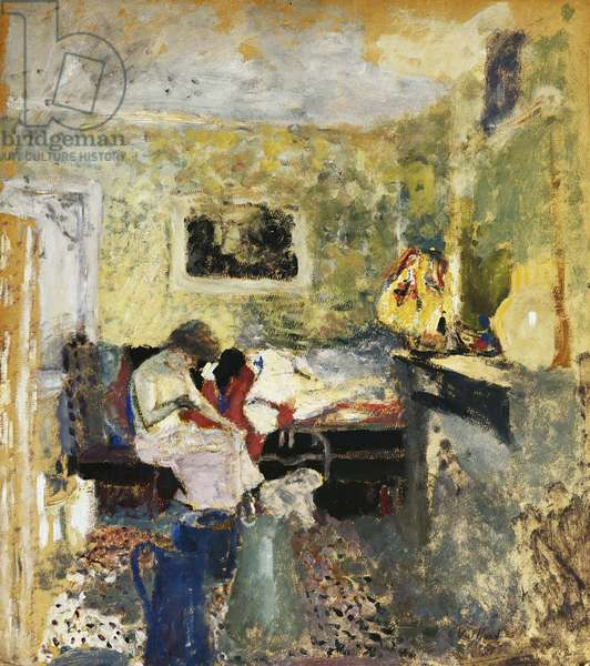 The Green Room; La Chambre Verte, 1905 (oil on board)