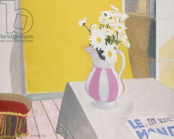 Bouquet de Marguerites, 1970 (oil on canvas)