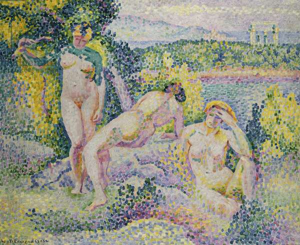 Nymphs, 1906 (oil on canvas)
