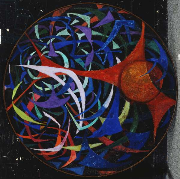 Abstract I, 1967 (oil on canvas)