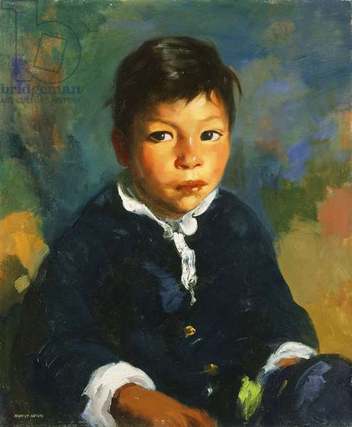 Little Half Breed, 1917 (oil on canvas)