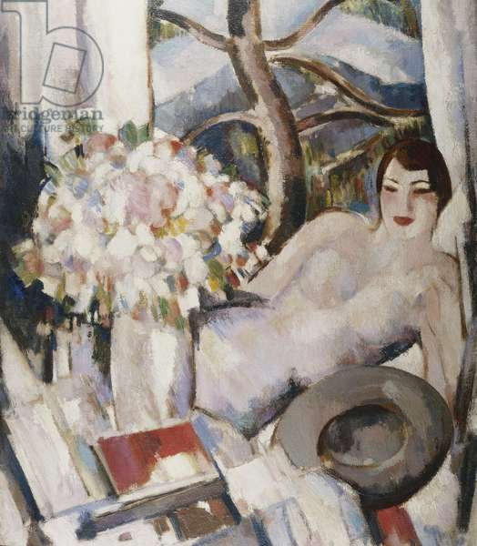Thorenc, Afternoon, 1929, 1929 (oil on canvas)