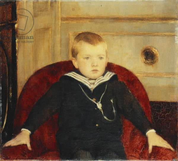 Les Digitales, 1899 (oil on canvas)