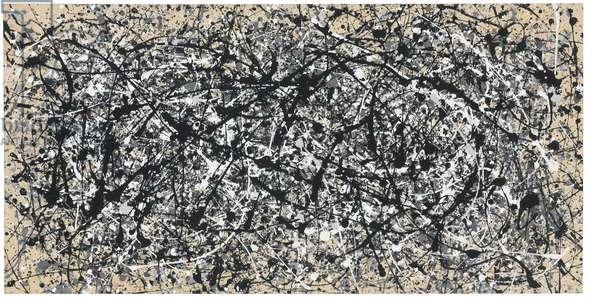 Not Pollock, 1983 (oil & enamel on canvas)