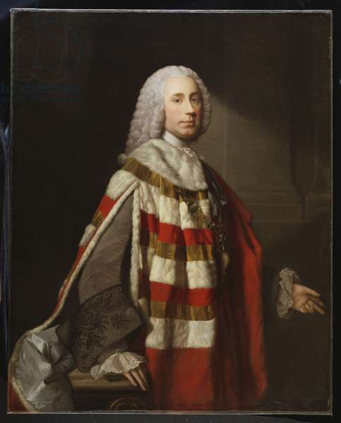 Portrait of a Nobleman, thought to be James, 8th Earl Of Moray (oil on canvas)