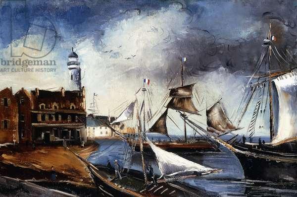 Port de Cassis, 1920 (oil on canvas)