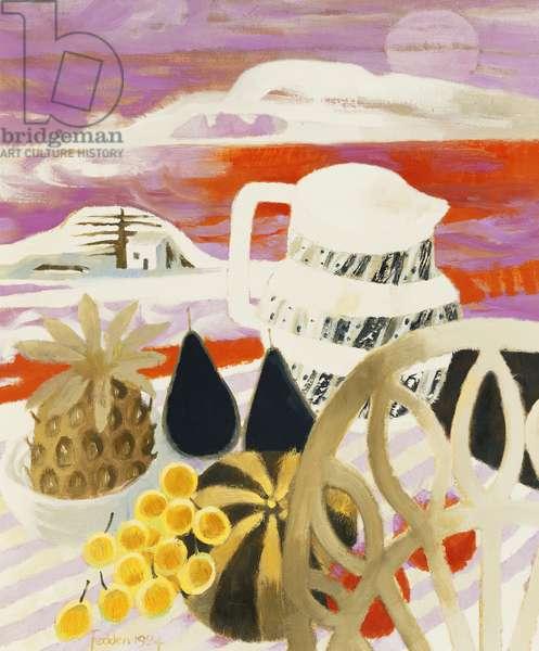 Spanish Still Life, 1984 (oil on canvas)