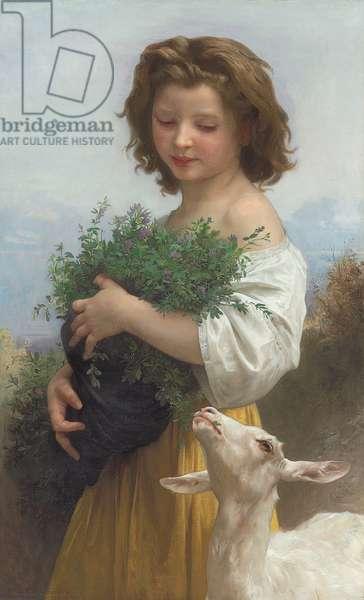 Little Esmeralda; La Petite Esmeralda, 1874 (oil on canvas)