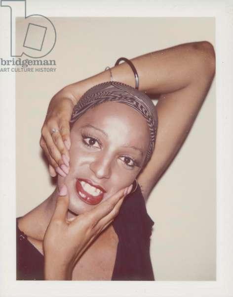 Ladies and Gentlemen (Wilhelmina Ross), 1975 (Polaroid print)