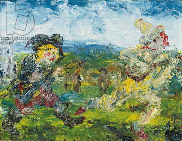 The Fool Chase, 1942 (oil on canvas)