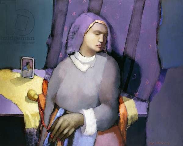 Nostalgia for the Last Appointment; Nostalgie du Dernier Rendez-vous, 1988 (oil on canvas)