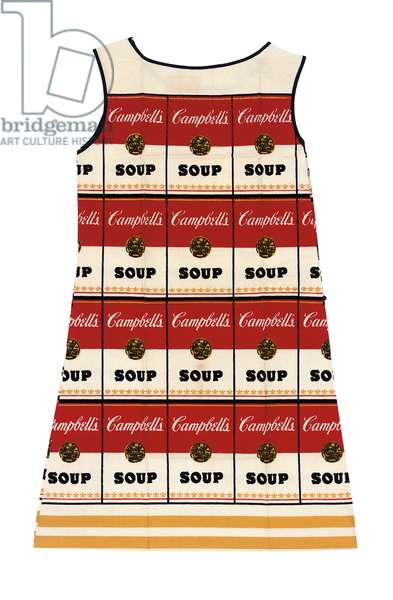 Campbell's Souper Dress, United States, c.1966 (photo)