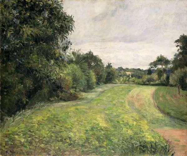 Le Fond de St, 1876 (oil on canvas)