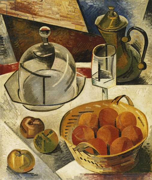Still Life with Apples; Nature Morte aux Pommes, 1910 (oil on canvas)