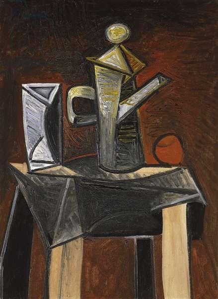 La Cafetiere, 1944 (oil on canvas)